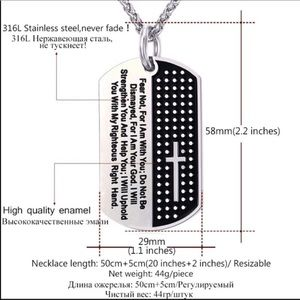 Accessories - New Stainless Steel Cross Necklace